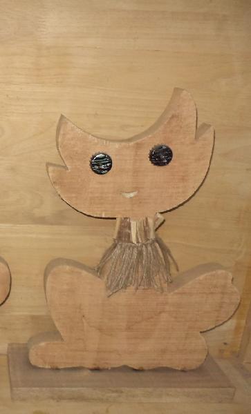 Wooden Cartoons 05