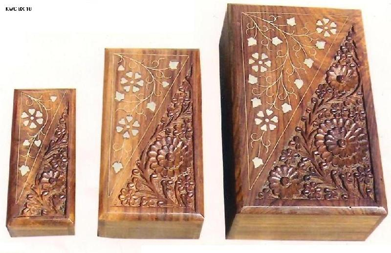 Wooden Jewellery Boxes 02