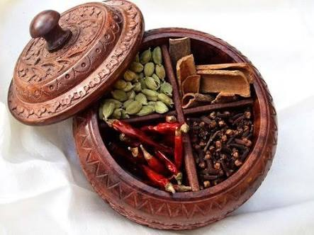 Wooden Spice Box 01