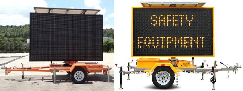 Solar Powered LED Display 01