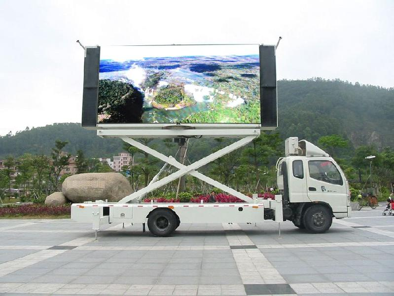 Truck Mounted LED Display 01