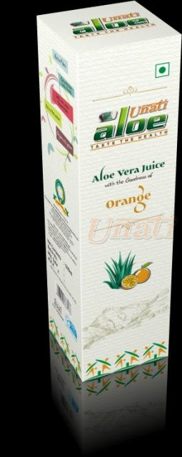Orange Flavoured Aloevera Juice