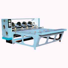 Combined Rotary Creasing, Slotting & Slitting Machine