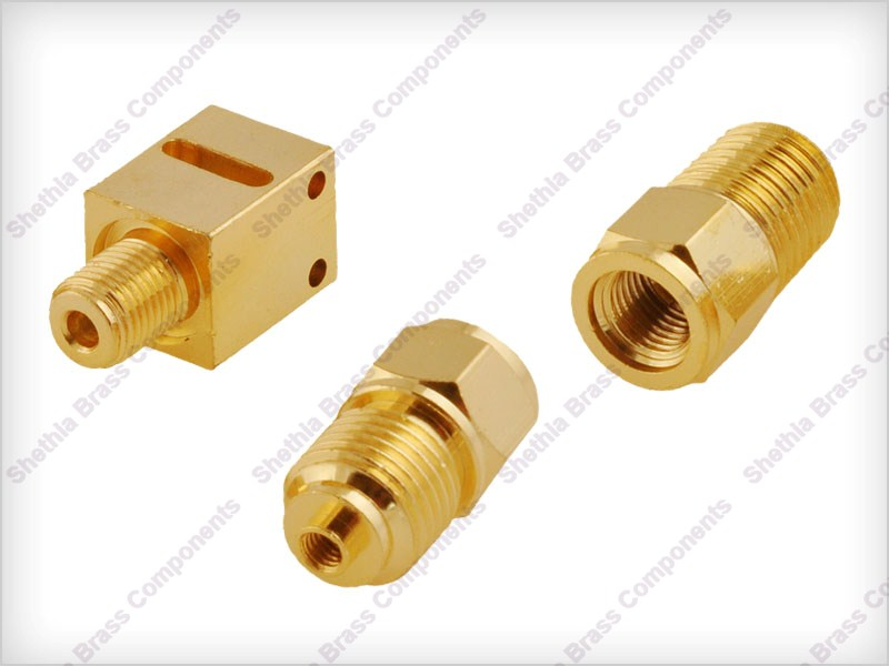 Brass Pressure Gauge Part 01