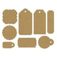 Designer Paper Tags