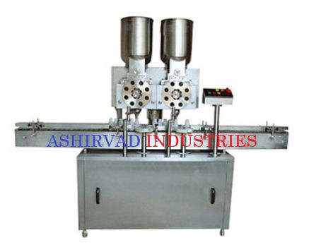 Automatic Dry Syrup Powder Filling Machine