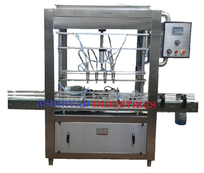 Automatic Sauce Bottle Filling Machine