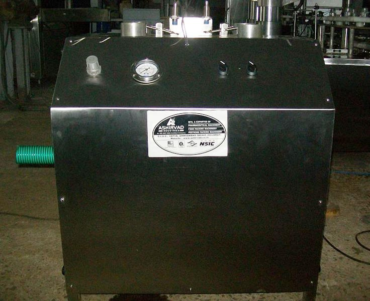 Semi Automatic Air Jet Cleaning Machine