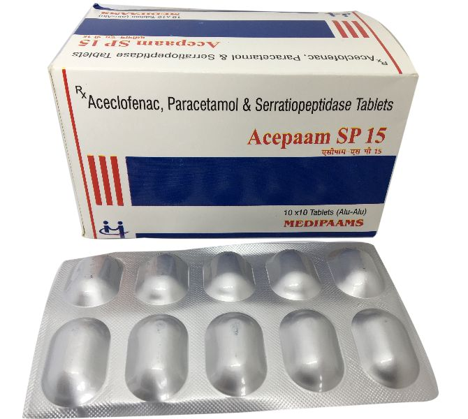 Acepaam SP 15 Tablets