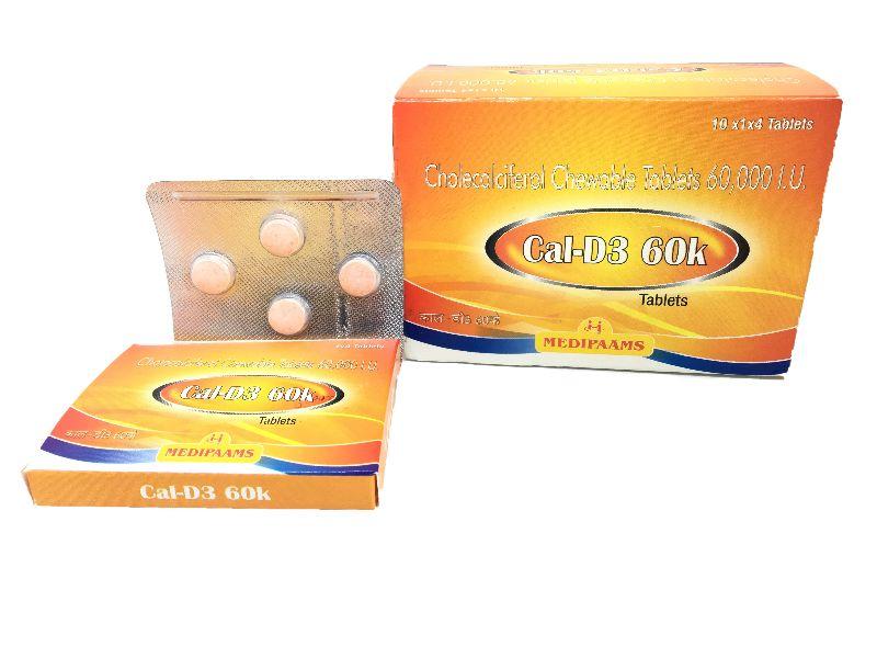 Cal-D3 60k Tablets
