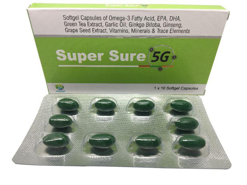 Super Sure 5G Capsules