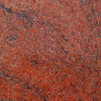 Multicolor Red Granite Stone