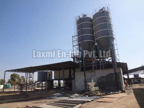 AAC Fly Ash Silo Plant