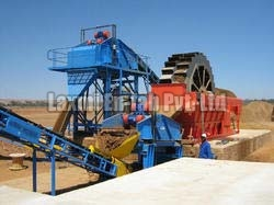 Sand washing drying gradation plant 01