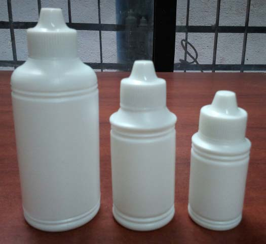 Plastic Ink Bottles