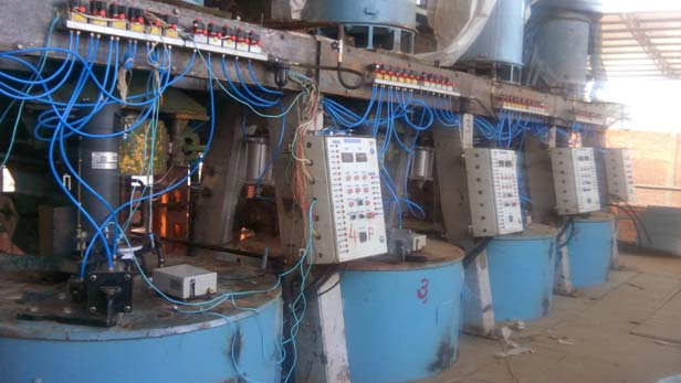 Automation of Centrifugal Machine