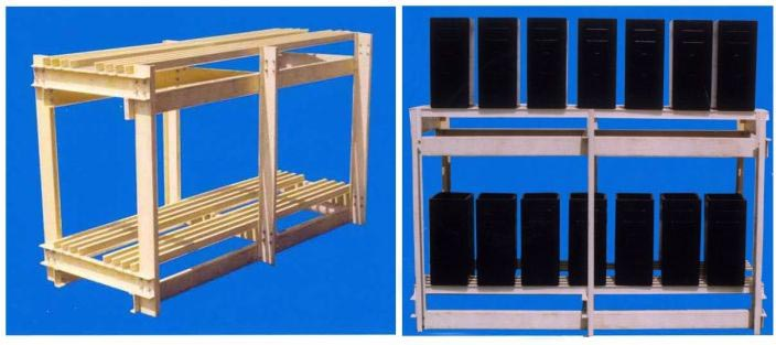 FRP Battery Stand