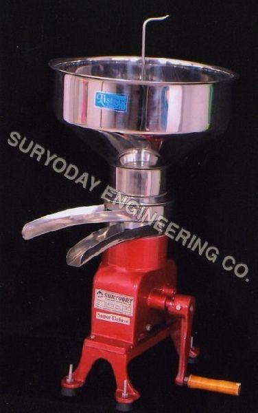 100 LPH Cream Separator Machine