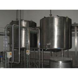 Stainless Steel Ghee Storage Tank