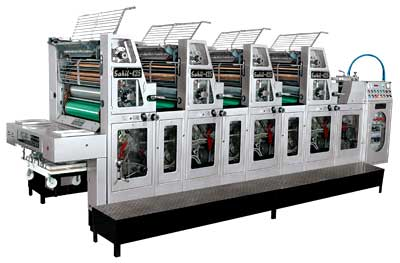 Four Colour Sheetfed Offset Printing Machine