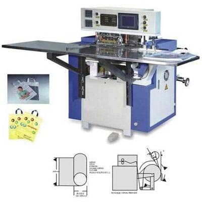 Fully Automatic Soft Loop Handle Welding Machine 01