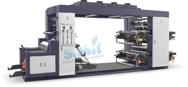 Non Woven High Speed Flexo Printing Machine