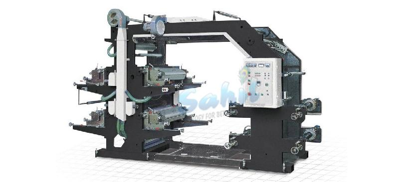Non Woven Roll To Roll Flexo Printing Machine