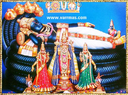 Anantha Padmanabha Tanjore Painting (10003)