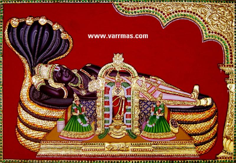 Anantha Padmanabha Tanjore Paintings