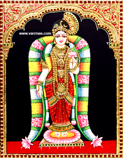 Andal Tanjore Painting (10017)