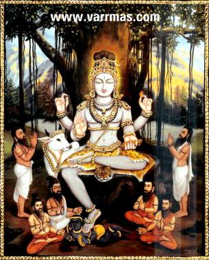 Dakshinamurthy Tanjore Painting (10131)