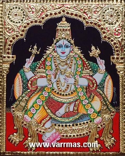 Dhanvantari Tanjore Painting (10203)