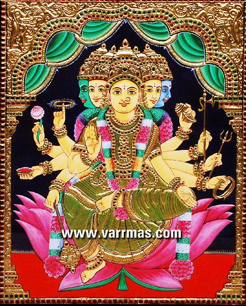 Gayathri Tanjore Paintings