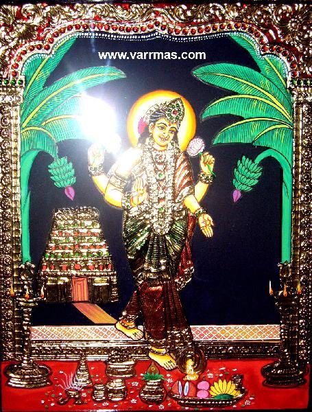 Grihalakshmi Tanjore Painting (10326)