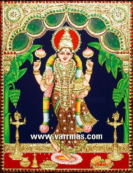 Grihalakshmi Tanjore Painting (10327)