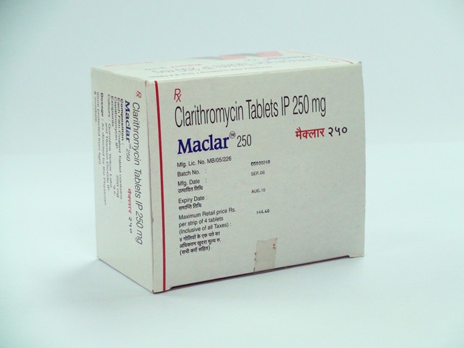 Maclar 250 Tablets
