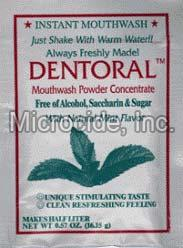 Dentoral Mint Concentrated Mouthwash Powder