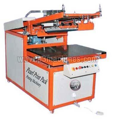 Semi Automatic Flat Screen Printing Machine (Model : P3-Scrino)