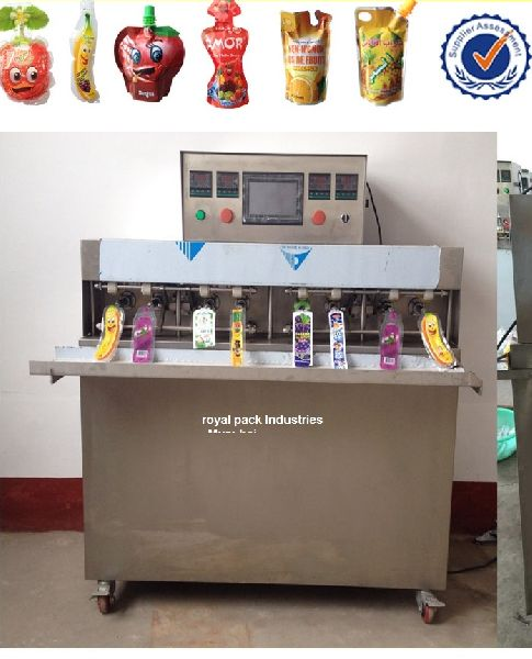 Pouch Filling Machine 01