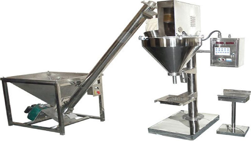 Semi Auger Filling Machine 01