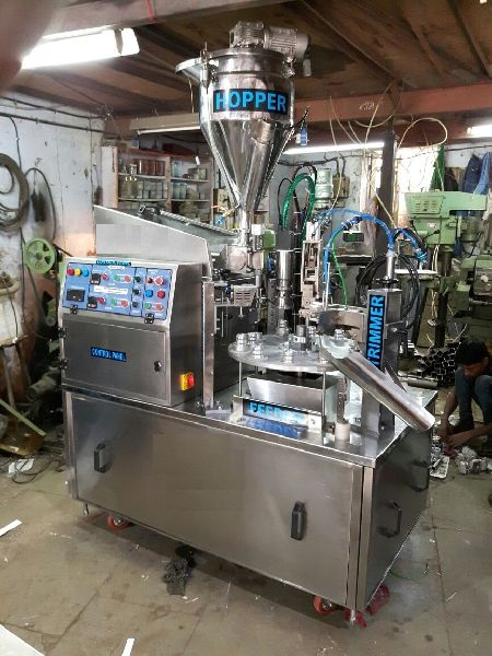 Semi Auto Tube Filling and Sealing Machine