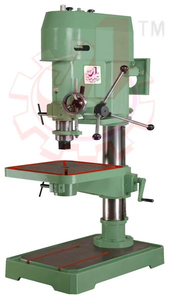 JIP38 : 38mm Cap. Pillar Drilling Machine 02