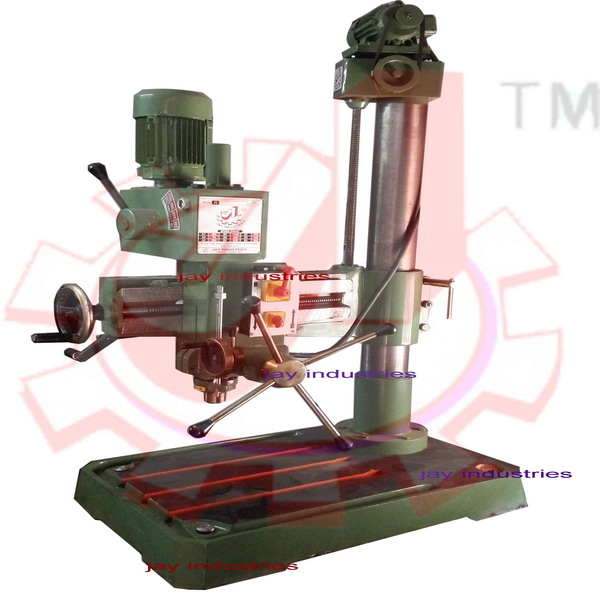 JIR38G : 38mm Cap. Geared Radial Drilling Machine