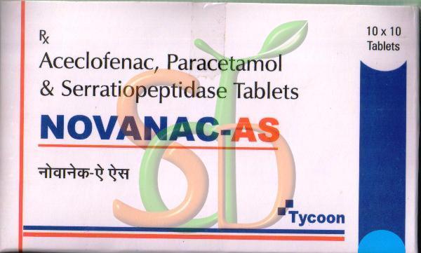 Novanac-AS Tablets