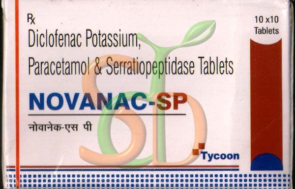 Novanac-SP Tablets