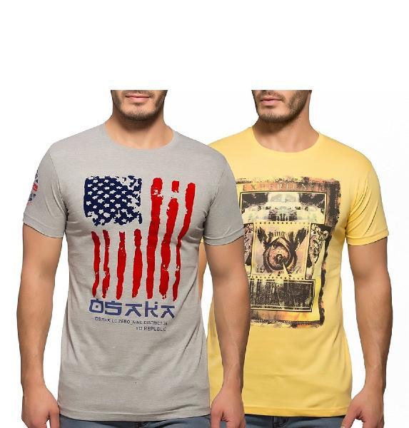 Men Round Neck T-Shirt 01