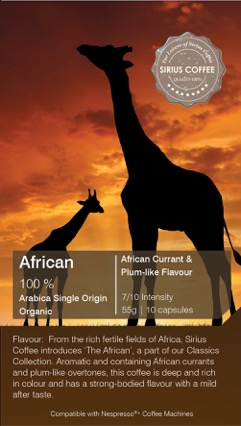 African Nespresso Compatible Coffee Capsule 02