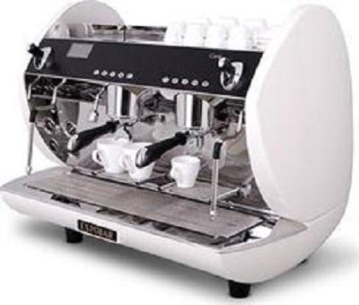 Carat Eco 2 Group White Coffee Machine