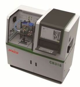 CR 318 Injector Integrated Test Bench