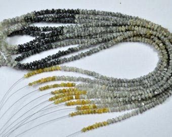 Natural Raw Uncut Diamond Beads